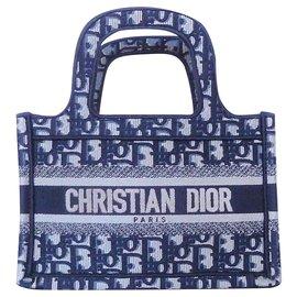 Dior-DIOR SAC BOOK TOTE MINI-Bleu