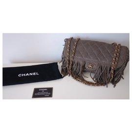 Chanel-CHANEL PARIS-DALLAS BAG-Taupe