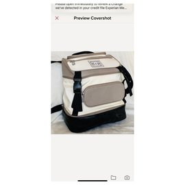 Chanel-CHANEL Sport Line Backpack-White