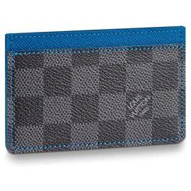 Louis Vuitton-LV card wallet new-Grey