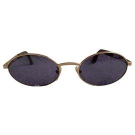 Autre Marque-Lamborghini Vintage Sonnenbrille-Golden