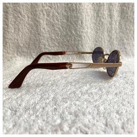 Autre Marque-Óculos de sol vintage Lamborghini-Dourado