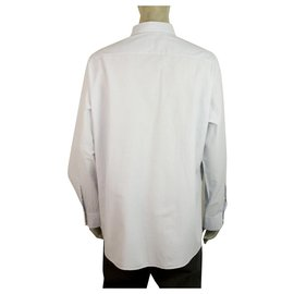 Ermenegildo Zegna-Ermenegildo Zegna Classic Light Blue Shirt Long Sleeve Cotton Mens XXL-Light blue