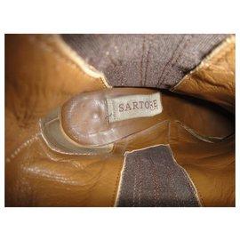 Sartore-Sartore p Stiefel 39-Dunkelbraun