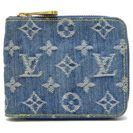 Louis Vuitton-Louis Vuitton Zippy Wallet-Bleu