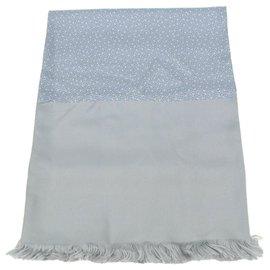 Hermès-Hermès Schal-Grau