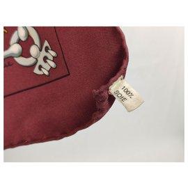 Hermès-Rattling-Golden,Dark red,Eggshell