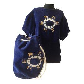Hermès-Overalls-Blau
