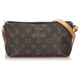 Louis Vuitton-Louis Vuitton Brown Monogram Trotteur-Brown
