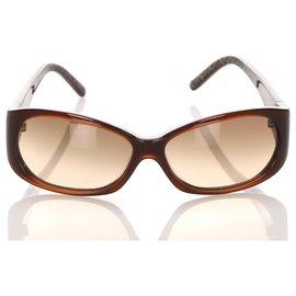 Fendi-Fendi Black Square Tinted Sunglasses-Black