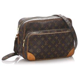 Louis Vuitton-Louis Vuitton Brown Monogram Nile-Brown