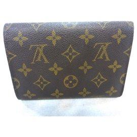 Louis Vuitton-TREASURE TRIFOLD MONOGRAM-Brown