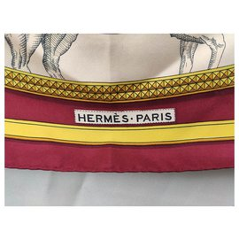 Hermès-Great Apparat ( ROUGE)-White,Red,Golden