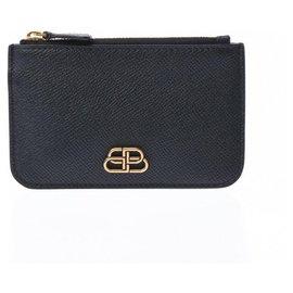 Balenciaga-Balenciaga Wallet-Black