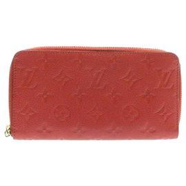 Louis Vuitton-Louis Vuitton Zippy Wallet-Rouge