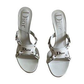 Dior-Des sandales-Blanc