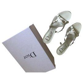 Dior-Sandalen-Weiß