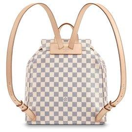 Louis Vuitton-Sperone backpack-Beige