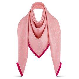 Louis Vuitton-LV So soft shawl new-Pink