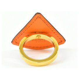 Hermès-Hermès ring-Golden