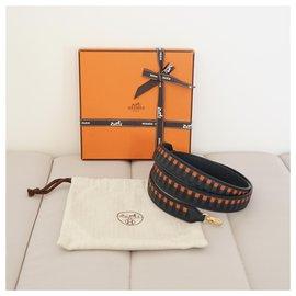 Hermès-Geldbörsen, Geldbörsen, Fälle-Schwarz,Blau,Orange