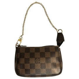 Louis Vuitton-Pochette accessoire bag-Brown