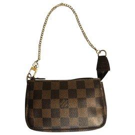 Louis Vuitton-Pochette accessoire bag-Marron