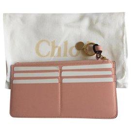 Chloé-Wallets-Pink