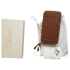 Chloé-Wallets-Brown