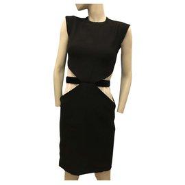 Givenchy-Black and white dress-Black,White