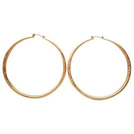 Kenneth Jay Lane-Earrings-Golden