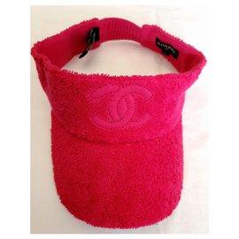 Chanel-New Chanel L visor-Pink,Fuschia