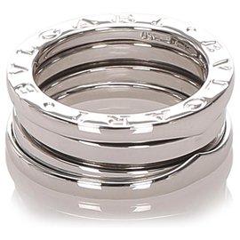 Bulgari-Bvlgari Silver B-Zero1 Ring-Silvery