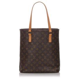 Louis Vuitton-Louis Vuitton Brown Monogram Vavin GM-Brown