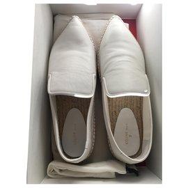 Céline-Espadrilles-Weiß