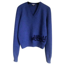 Chanel-Coco Gabrielle sweater-Navy blue
