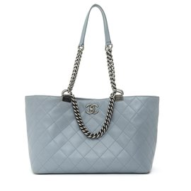 Chanel-TIMELESS CLASSIQUE GREY TOTE MEDIUM-Gris