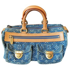 Louis Vuitton-Handbags-Blue