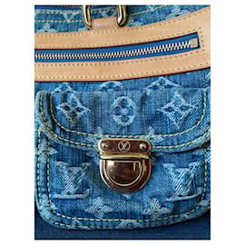 Louis Vuitton-Sacs à main-Bleu