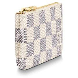 Louis Vuitton-LV Key Pouch DA-Beige