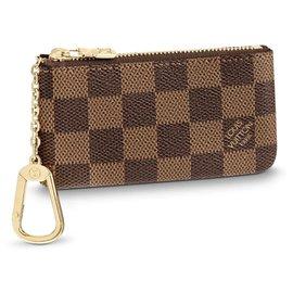 Louis Vuitton-Pochette à clés LV DE-Marron