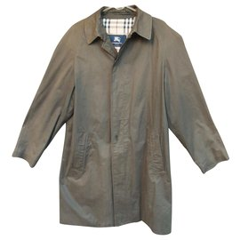Burberry-raincoat Burberry London t 48-Olive green