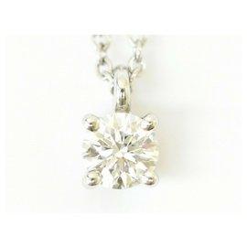 Tiffany & Co-TIFFANY & CO. Diamond Necklace-Silvery