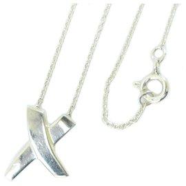 Tiffany & Co-TIFFANY & CO. Necklace-Silvery