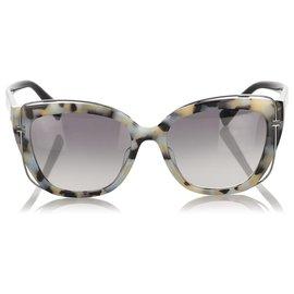 Tiffany & Co-Tiffany Black Square Tinted Sunglasses-Black,Multiple colors