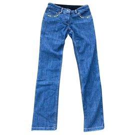 Louis Vuitton-Jeans-Bleu