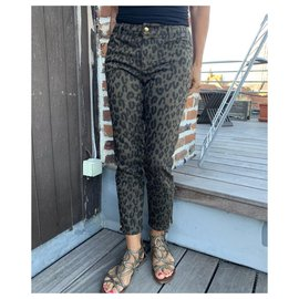 Louis Vuitton-Jeans-Green