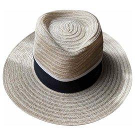 Maison Michel-Hats-Beige