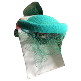 Gucci-Hats-Turquoise