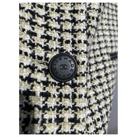 Chanel-Jackets-Black,White,Yellow